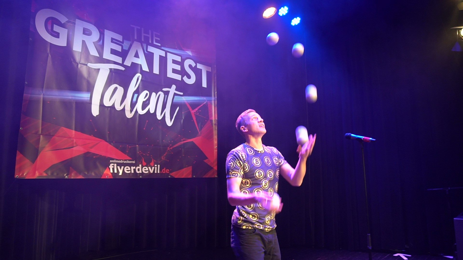 "Finalist bei ""The Greatest Talent"""